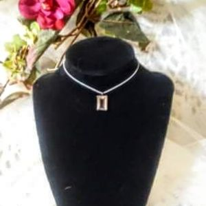 Choker necklace with vintage pendant